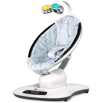 Кресло-качалка 4moms MamaRoo4 Silver plush - Minim