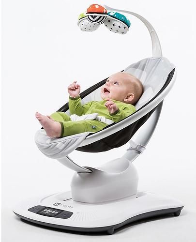 Кресло-качалка 4moms MamaRoo Multi Plush (14)
