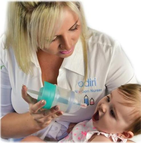 Бутылочка Adiri MD+ с системой подачи лекарства 118 мл (11)