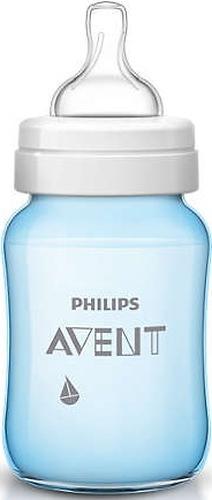 Бутылочка Avent Classic+ 260мл, голубой парусник (8)