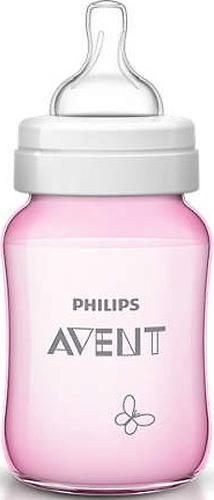 Бутылочка Avent Classic+ 260мл, розовая бабочка (8)