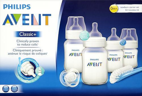 Набор Avent бутылочек Classic+ для новорожденных (12)