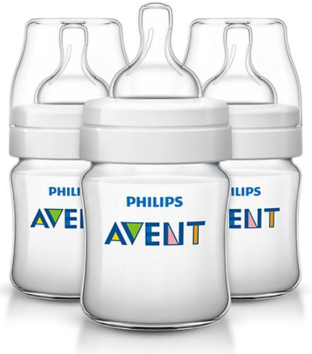 Бутылочка для кормления 125 мл Avent Classic+ 3 шт (9)