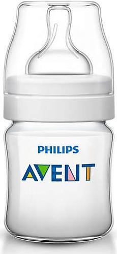 Бутылочка для кормления 125 мл Avent Classic+ 3 шт (12)