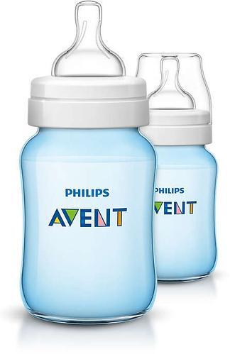 Бутылочка Avent Classic+ 260мл 2шт голубая (7)