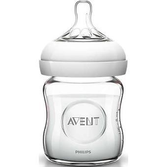 Бутылочка Avent для кормления стеклянная Natural 120мл - Minim