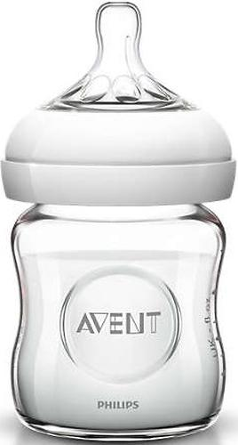 Бутылочка Avent для кормления стеклянная Natural 120мл (6)