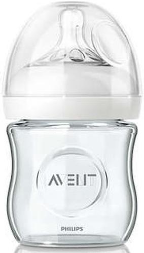 Бутылочка Avent для кормления стеклянная Natural 120мл (10)