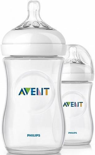 Набор Avent бутылочек Natural для новорожденных (10)