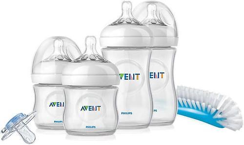 Набор Avent бутылочек Natural для новорожденных (8)