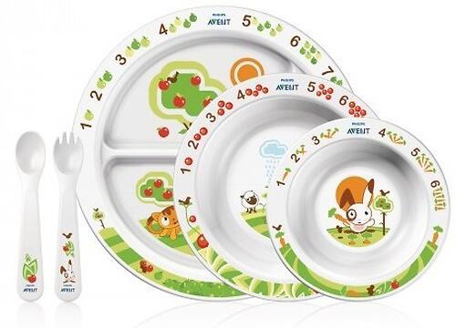 Набор детской посуды Avent 6+ (3)
