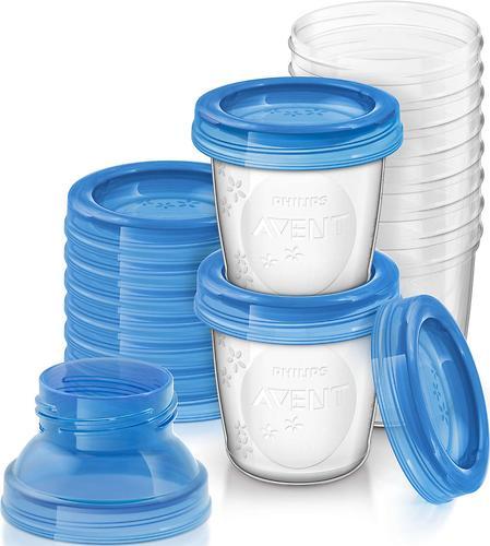 Контейнеры Avent для хранения молока VIA 180 мл 10 шт/уп (4)