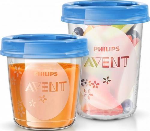 Набор контейнеров Avent 20 шт + 2 ложки (12)
