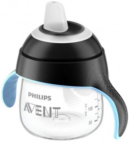 Сменный силиконовый носик Avent для поильника черный (6)