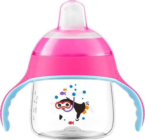 Чашка-непроливайка Avent SCF751/07 розовая (7)