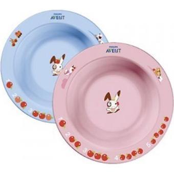 Тарелка Avent глубокая малая 6 мес+ в ассортименте - Minim