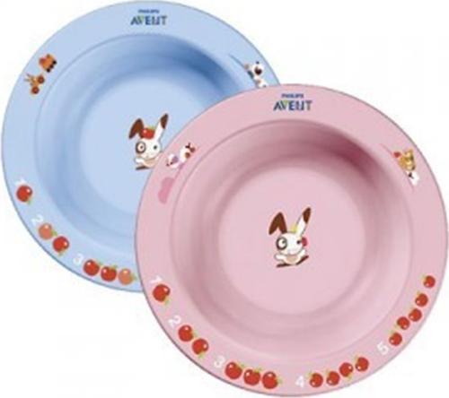 Тарелка Avent глубокая малая 6 мес+ в ассортименте (3)