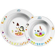 Набор Avent из 2 тарелок SCF708/00