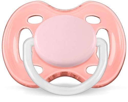 Пустышка Avent силикон FreeFlow серия Дизайн 6-18 мес (2 шт/уп) для девочек (8)