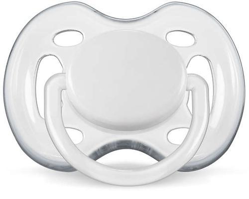Пустышка Avent силикон FreeFlow серия Дизайн 6-18 мес (2 шт/уп) для девочек (9)
