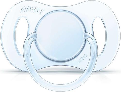 Пустышка Avent Mini силиконовая для мальчиков 0-2 мес 2шт (10)