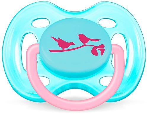 Пустышка Avent Дизайн 0-6 мес для девочки 1 шт/уп (1)