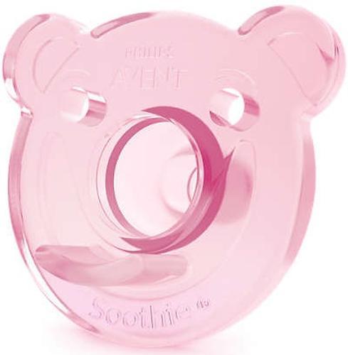 Пустышка силиконовая Avent Soothie 2 шт 0-3 мес для девочек (10)