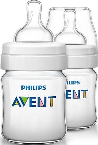 Бутылочка для кормления Avent Classic+ 125 мл 2 шт (8)