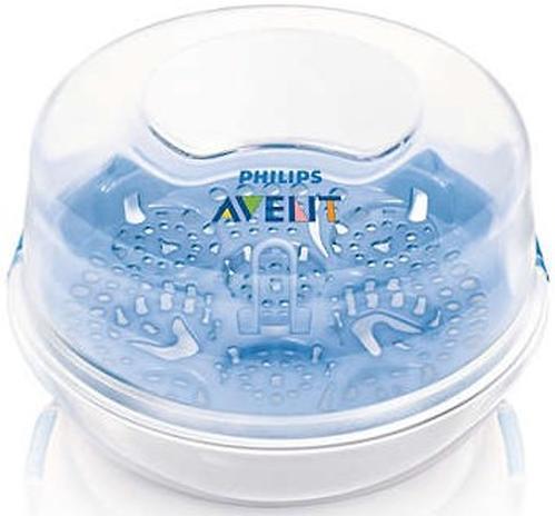 Стерилизатор Avent для микроволновой печи c 4 бутылочками в комплекте (10)