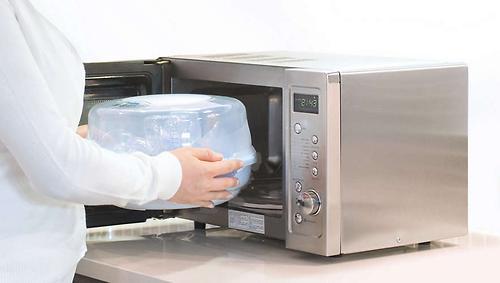 Стерилизатор Avent для микроволновой печи c 4 бутылочками в комплекте (13)