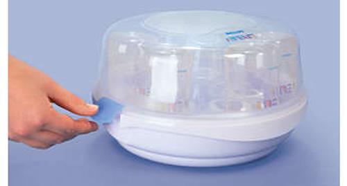 Стерилизатор Avent для микроволновой печи c 4 бутылочками в комплекте (12)