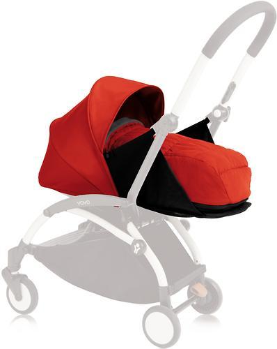 Комплект с цветным вкладышем Babyzen YOYO 0+ с рождения Red (1)
