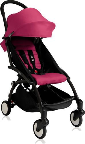 Коляска Babyzen Yoyo 6+ Pink-Black (12)