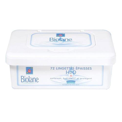 Салфетки очищающие, увлажняющие BIOLANE LINGETTES EPAISSES DOUCEUR (1)