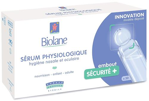 Сыворотка физиологическая Biolane SERUM PHYSIOLOGIQUE UNIDOSE 15 кап*1мл (3)