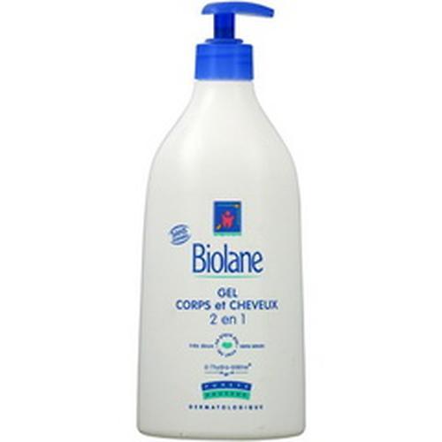Гель для тела и волос BIOLANE CORPS ET CHEVEUX 750 мл (1)