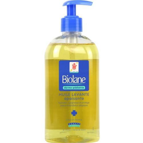 Гель-масло Biolane для купания, для тела и волос HUILE LAVANTE 500 мл (1)