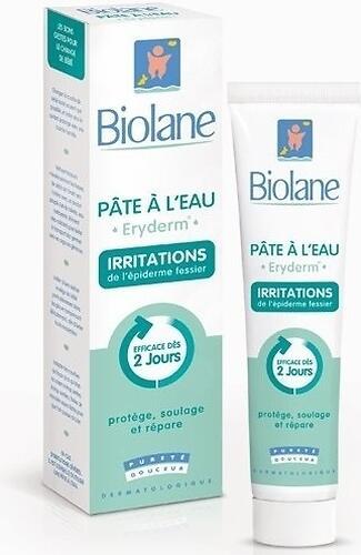 Крем Biolane заживляющий на водной основе для смены подгузников PATE A L\'EAU Eryderm 75 мл (1)