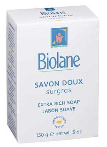 Мыло Biolane детское нежное 100% растительная основа (1)