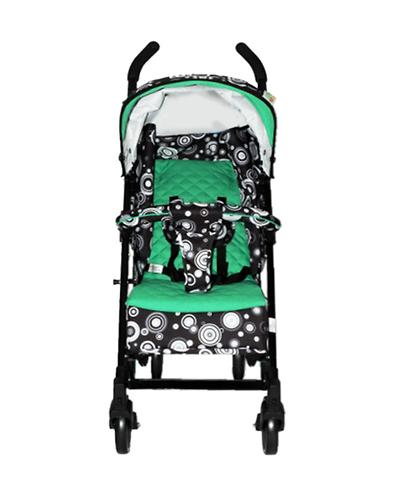 Коляска-трость BabyHit Rainbow Black-Green (12)