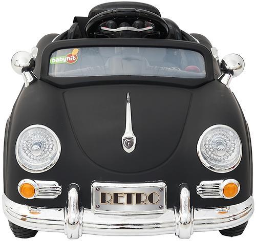 Электромобиль BabyHit RETRO Black (5)
