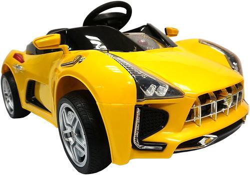 Электромобиль BabyHit Sport-Car Yellow (3)