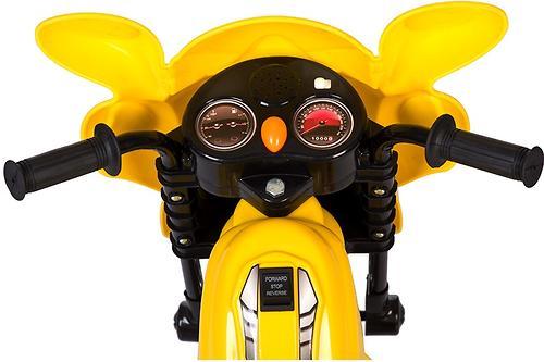 Электромобиль Babyhit Wroom Yellow (6)