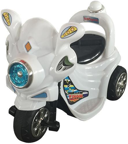 Электромобиль Babyhit Wroom White (4)