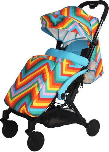 Коляска BabyHit Amber Zigzag Blue (5)