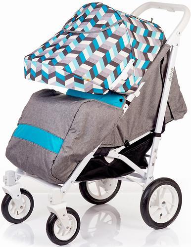 Коляска-трость BabyHit Drive Blue-Grey (7)