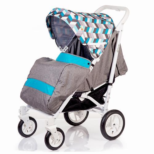 Коляска-трость BabyHit Drive Blue-Grey (8)
