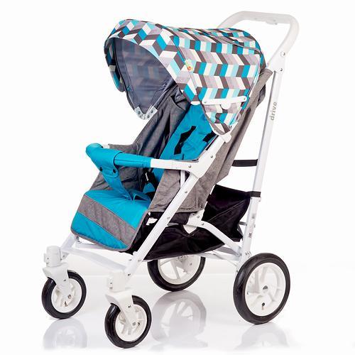 Коляска-трость BabyHit Drive Blue-Grey (9)