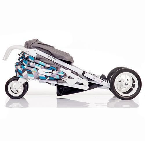 Коляска-трость BabyHit Drive Blue-Grey (12)