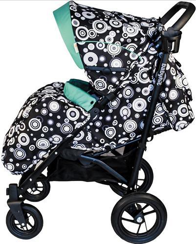 Коляска-трость BabyHit Drive Black-Green (9)